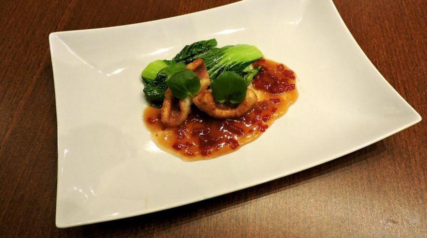Kalmary z Pak Choi i sosem Sweet Chili !!!