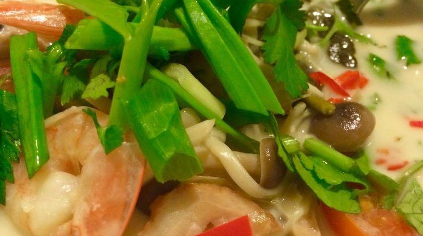 Tom Kha- tajska zupa z krewetkami