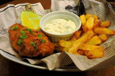 FISH&CHIPS + SOS TATARSKI