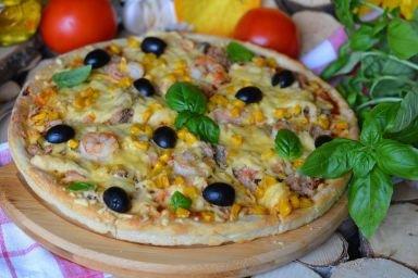 Ai Cecinelli czyli rybna pizza