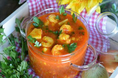 Zupa rybna z ziemniakami