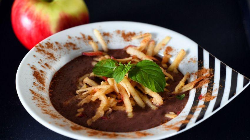 Wigilijna zupa piernikowa