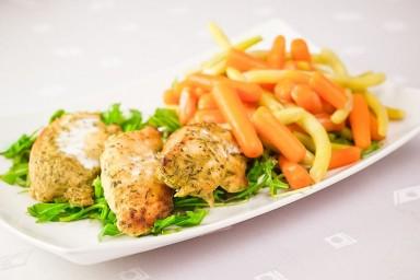 FIT OBIAD: Schab w sosie orientalnym z warzywami