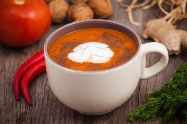 FIT OBIAD: Krem pomidorowy z nutą kokosową
