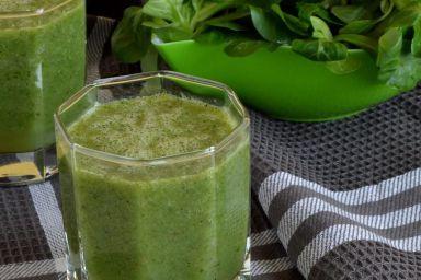 Zielony koktajl na drugie śniadanie