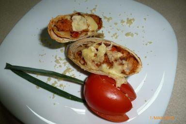 Burrito z kaszą kuskus