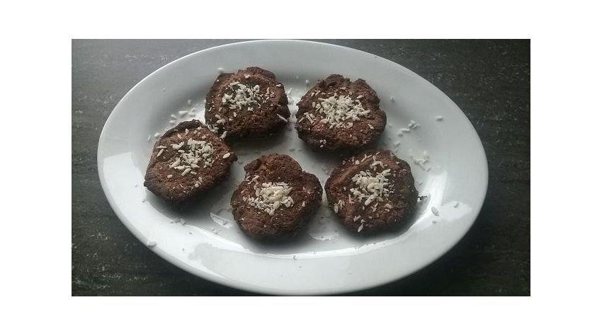 Fit placuszki z mąki kokosowej