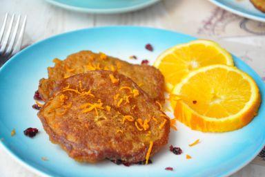 Placki marchewkowo-pomarańczowe
