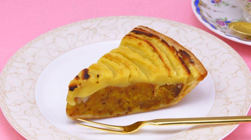 Korzenne ciasto z batatów