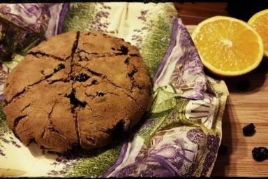 Ciasto z żurawiną i pomarańczą