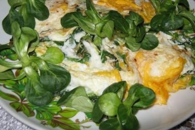 Jajka na roszponce