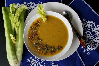 Zupa krem z selerem naciowym