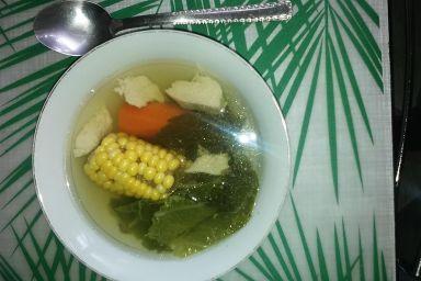 Fit zupa z białym mięsem