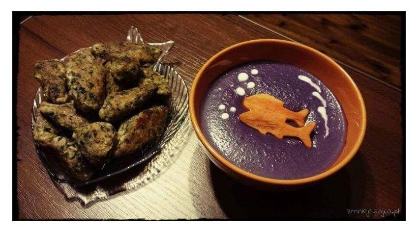 Tradycyjna zupa z gumi-jagód według przepisu Babci Buni