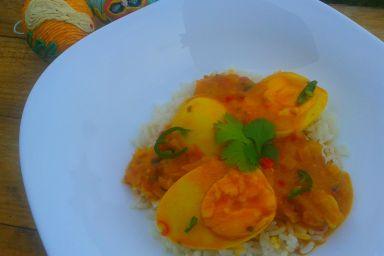 Curry jajeczne
