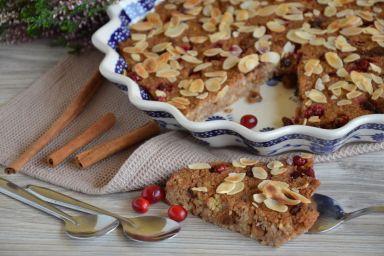 Ciasto z kaszy jaglanej z korzenną nutą