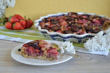 Tarta musli z owocami