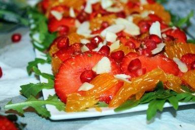 Carpaccio truskawkowe