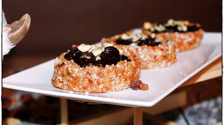 Kanapki daktylowo-czekoladowe