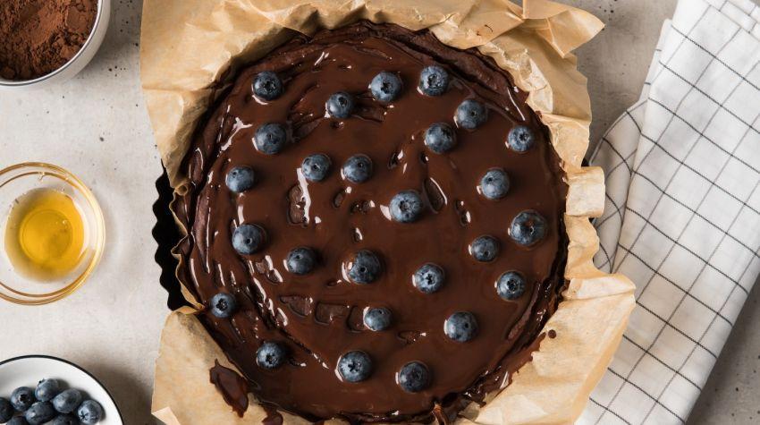 FIT DESER: Brownie z batata