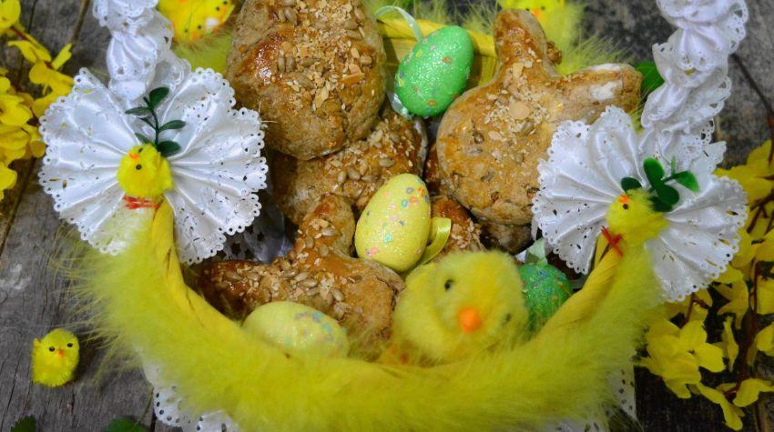Chleb domowy na Wielkanoc
