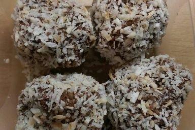 Kokosowo - jaglane kulki mocy