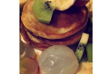 Placuszki z ricottą i owocami
