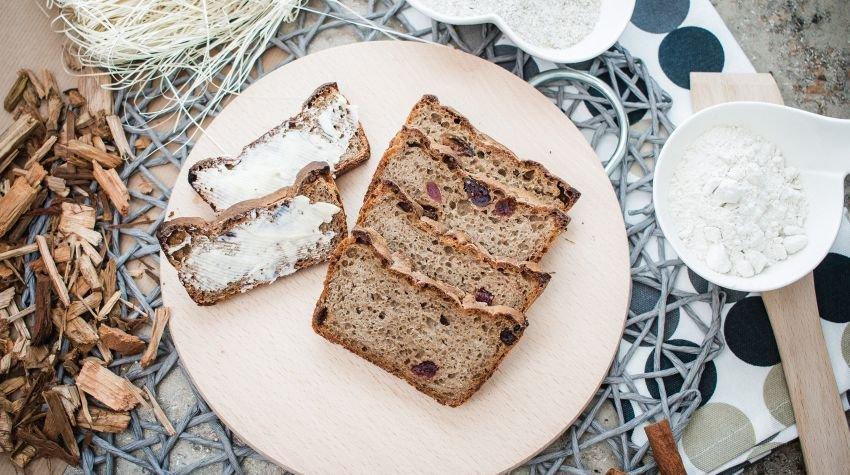 FIT ŚNIADANIE: Chleb żytni na naturalnym zakwasie