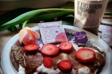 proteinowy omle dla ćwiczących
