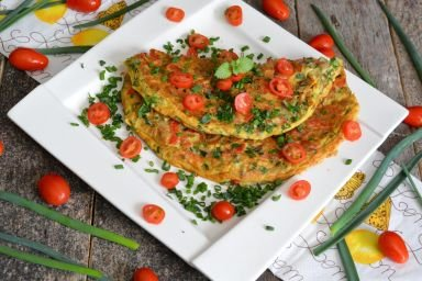 Wiosenny omlet