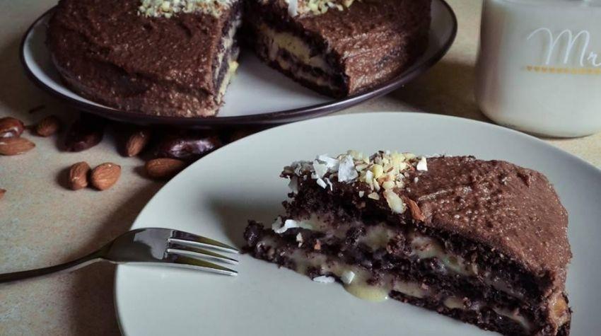 Czekoladowe ciasto z nutką czułości ;)