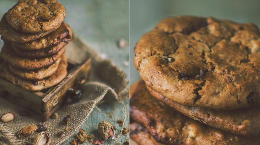 Bezglutenowe ciastka z ciecierzycy