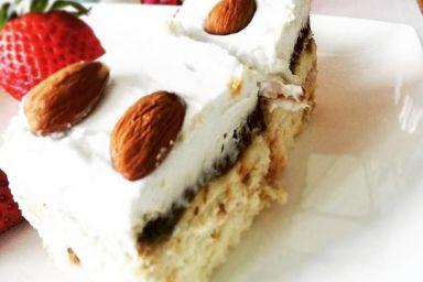 Bezglutenowy tort kokosowy