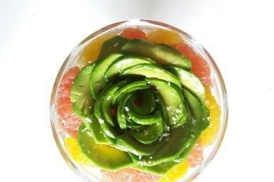 cytrusowa sałatka z awokado