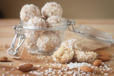Kulki kokosowe z wafli ryżowych