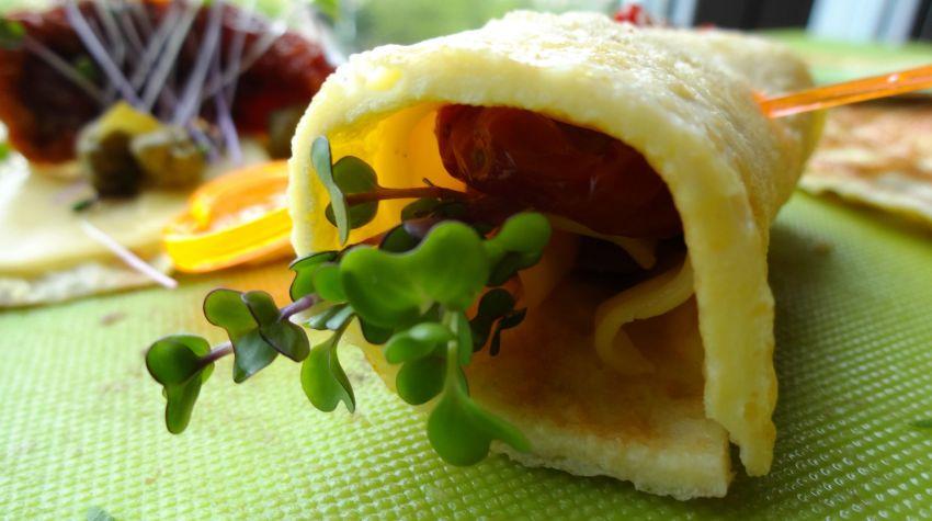 Roladki jajeczne