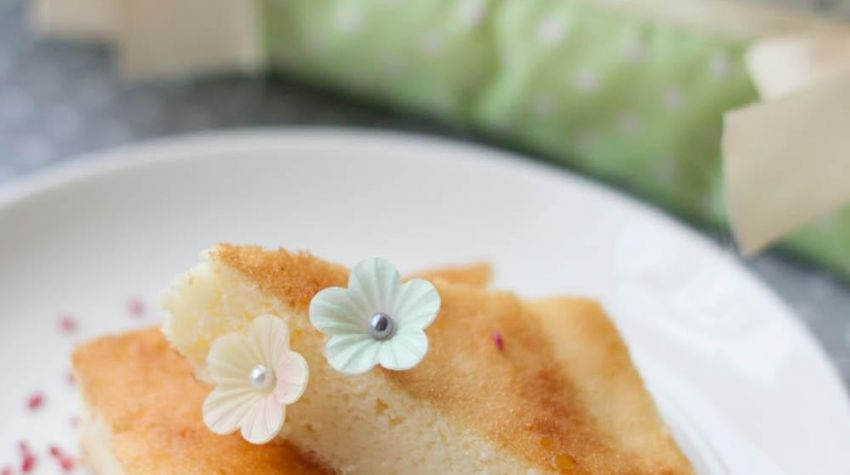 Jogurtowo-kokosowe ciasto a'la sernik (bez cukru)