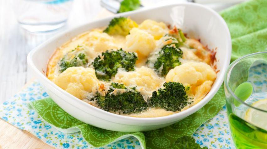 Zapiekanka z brokułem