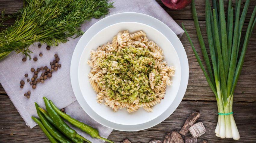 FIT OBIAD: Makaron z sosem brokułowym