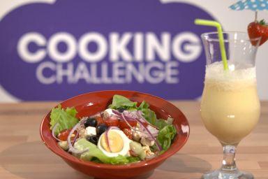 Koktajl pomarańczowo-bananowy od DJ Wiki z Cooking Challenge
