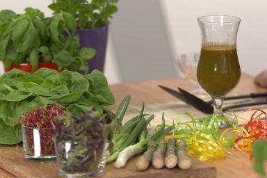 Sok marchewkowo – pietruszkowy Magdy Skowrońskiej z Cooking Challenge