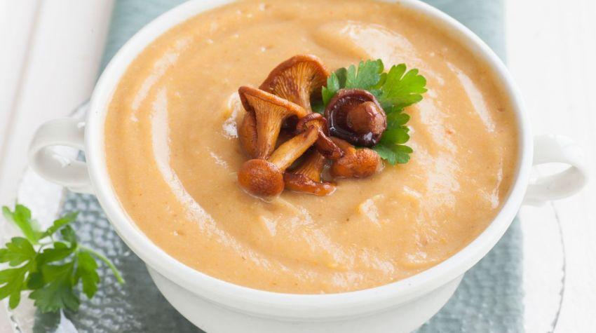 Zupa kurkowa z pulpetami z sarny
