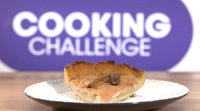 Tarta jaglana z jabłkami Oli Łukasik z Cooking Challenge