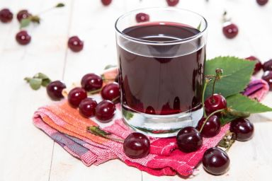 Domowy sok z wiśni
