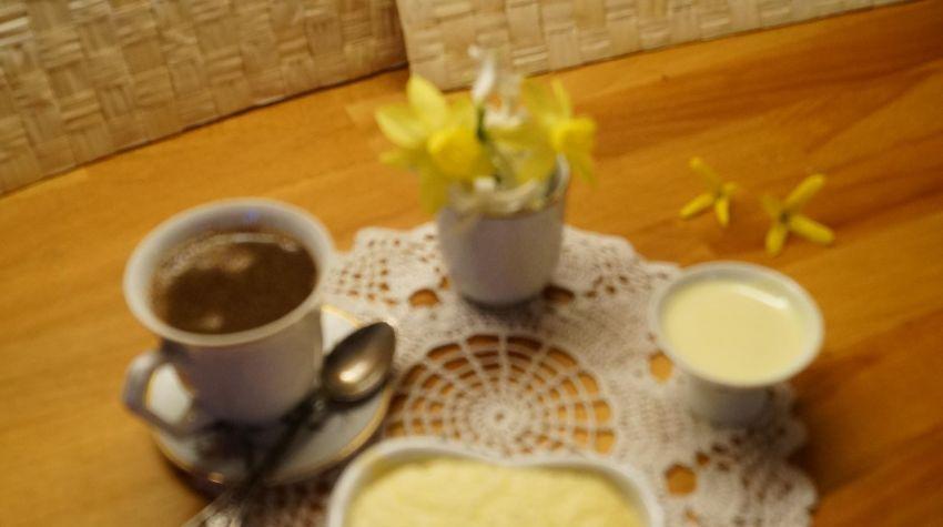 Suflet z białej czekolady i kokosu