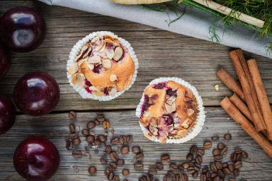 FIT DESER: Dietetyczne muffiny z wiśniami