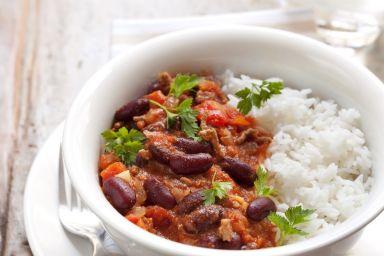 Fit chili con carne z mięsem mielonym