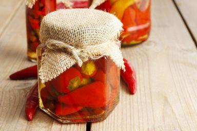 Chili w oleju do słoików