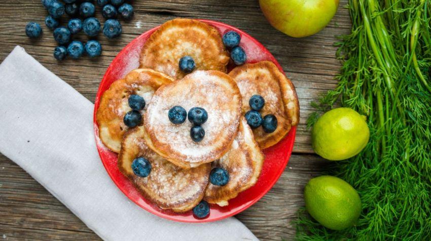 Placuszki jabłkowe