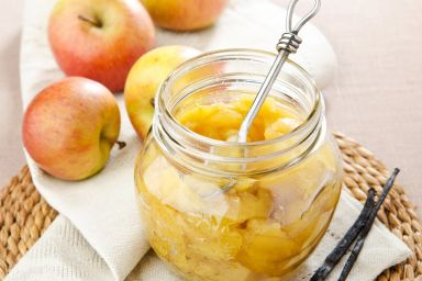 Jabłka w słoiku